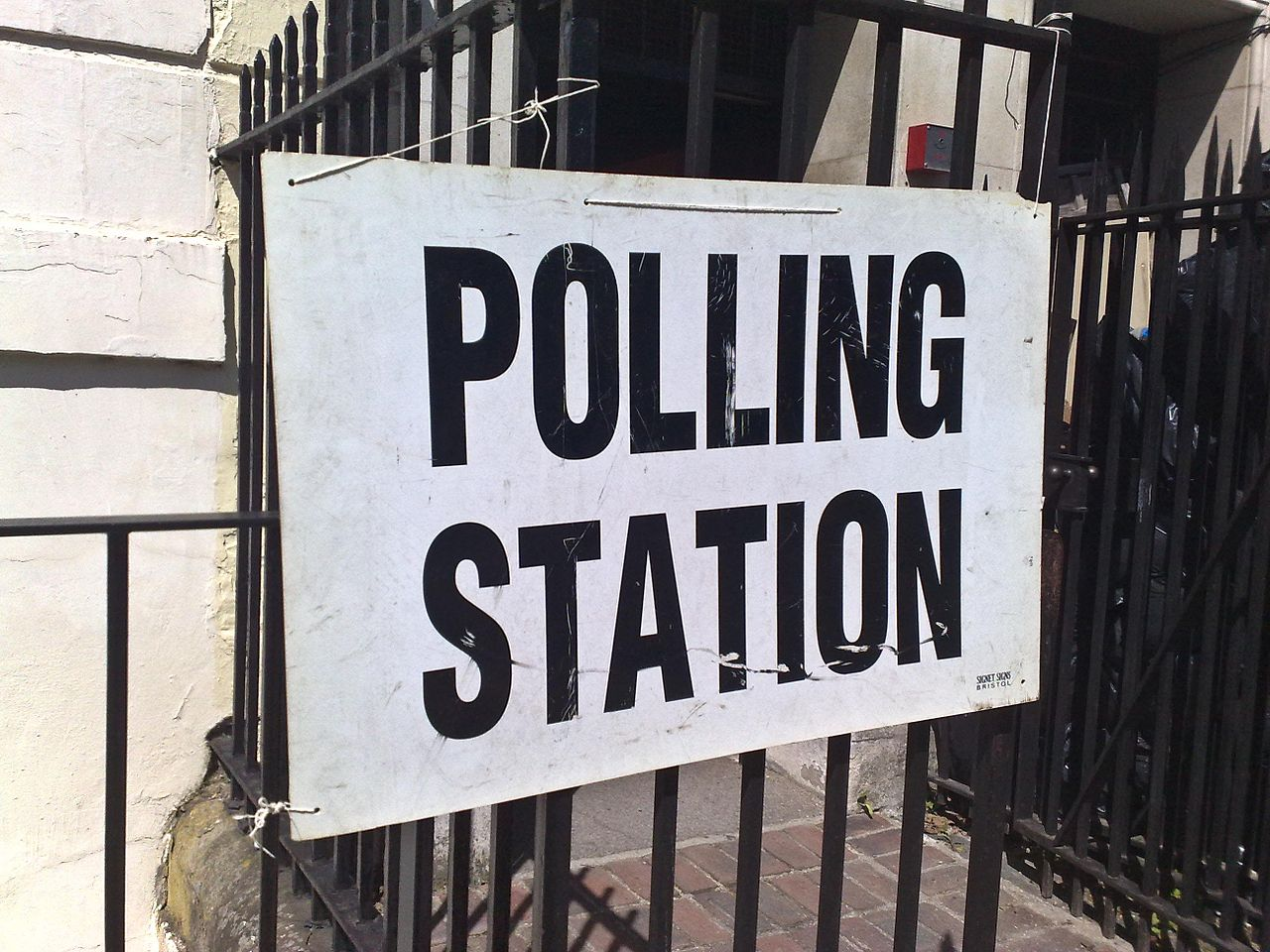 Polling Station, election